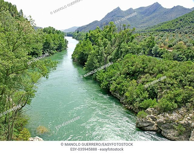 Spain, Catalonia, Barcelona province, Llobregat river