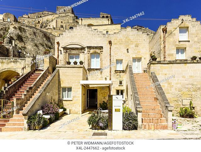 European Cultural Capital 2019, Sassi of Matera, Matera, Basilicata, Italy, UNESCO World Heritage Site