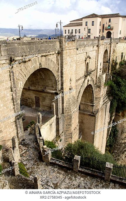New bridge in Ronda, Málaga, Spain