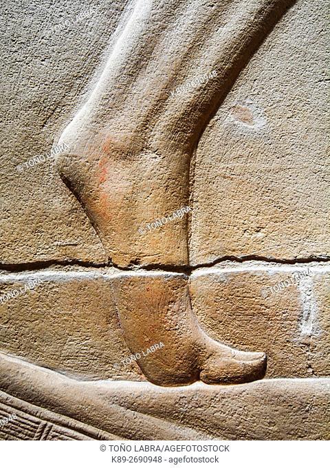 Mastaba of Merereuka. VI Dynasty. Archeological remains. Saqqara necropolis. Egypt