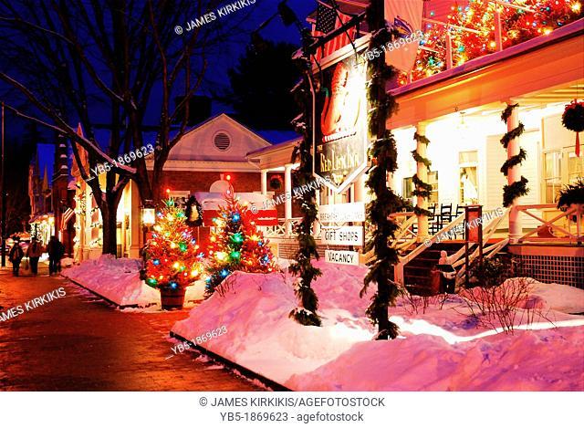 Christmas, Red Lion Inn, Stockbridge