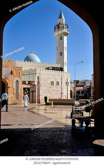 Entrance to the Souk in Mutrah, Muscat, Sultanate of Oman