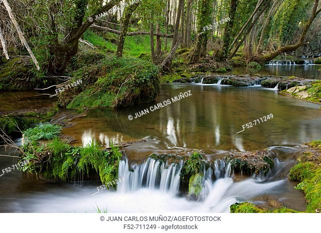Natural Monument waterfalls of Huesna. Sierra Morena. Natural Park of 'Sierra Norte'. Spain