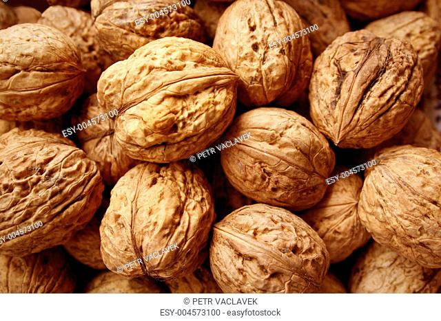 Lots of walnuts