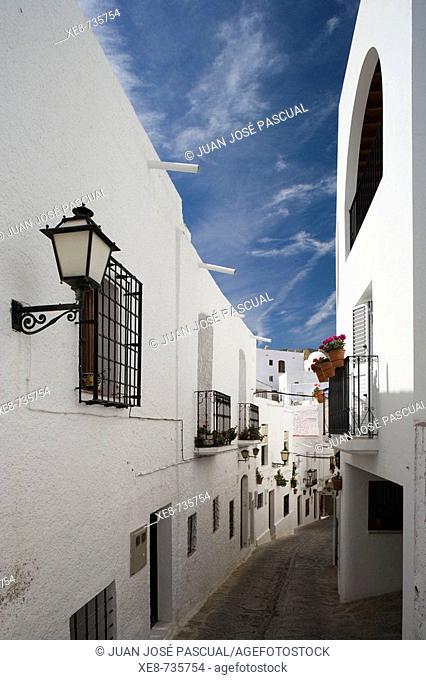 Street view, Mojacar. Almeria province, Andalucia, Spain