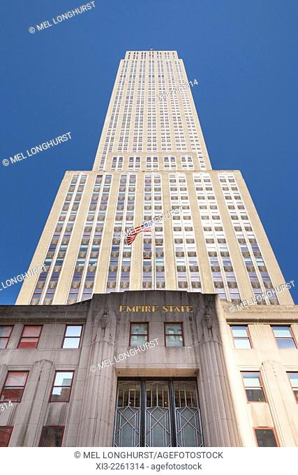 Empire State Building, 5th Avenue, Manhattan, New York City, New York, USA