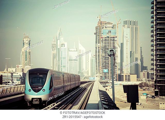 Aerial transportation system in Dubai