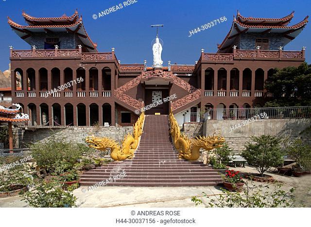 Trung Son Cu Tu Pagode, Phan Rang, Ninh Thuan, Vietnam, Asien