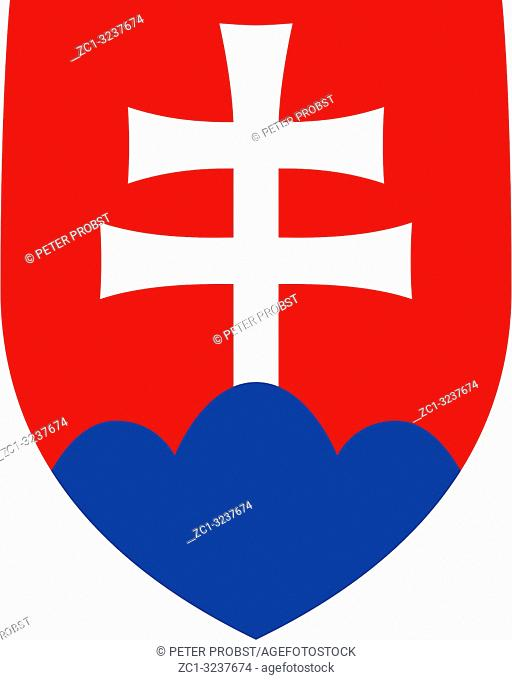 National coat of arms of the Slovak Republic