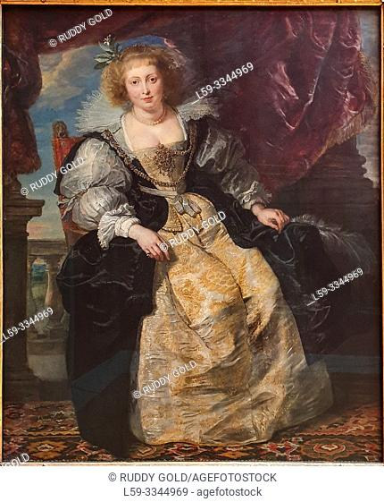 'Helene Fourment 'in Her Bridal Gown', 1630/31, by Peter Paul Rubens (1577-1640)
