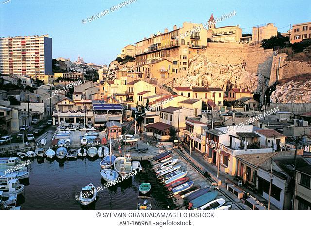 Vallon des Auffes. Marseille. France