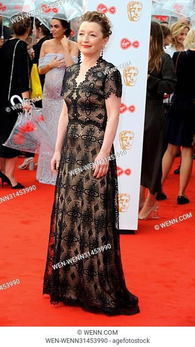 The Television BAFTA Awards 2017 - Arrivals Featuring: Lesley Manville Where: London, United Kingdom When: 14 May 2017 Credit: WENN.com
