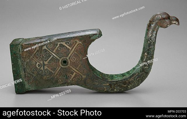 Bow Support for a Crossbow - Eastern Zhou dynasty, Warring States period (480–221 B.C.), c. 4th century B.C. - China - Origin: China, Date: 399 BC–300 BC