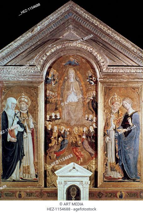 'Assumption', 15th century