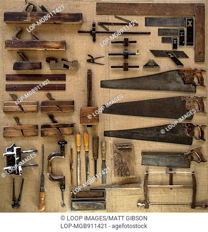 18th Century tools for carpenter or joiner