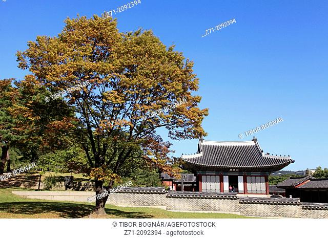 South Korea, Seoul, Changgyeonggung Palace