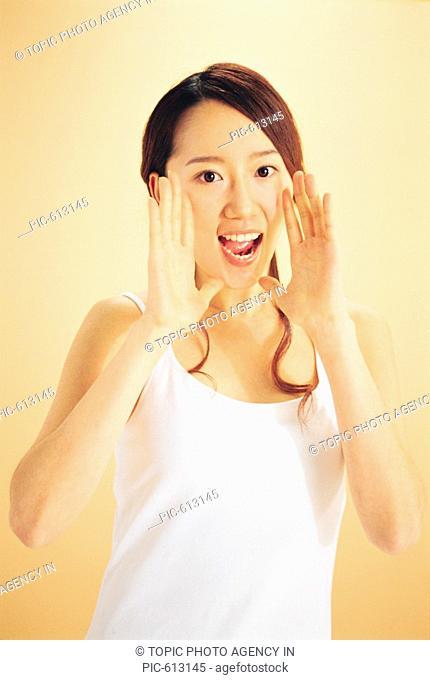 Woman Shouting, Korean