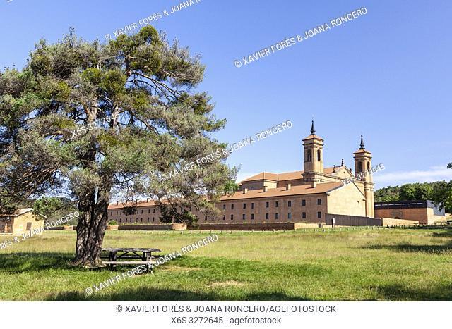 Real Monastery of San Juan de la Peña near Jaca - new monastery -, Huesca, Spain