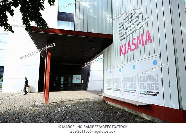 Kiasma is a contemporary art museum located on Mannerheimintie in Helsinki, Finland