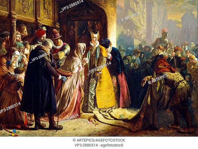 James Drummond - The Return of Mary Queen of Scots to Edinburgh - National Galleries of Scotland