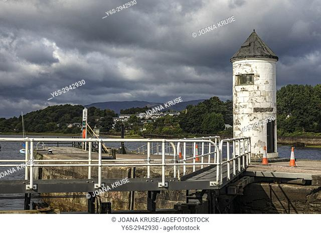 Corpach, Caledonian Canal, Highlands, Scotland, United Kingdom