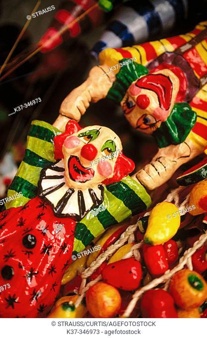 Puppets. Mexican artifacts. San Miguel de Allende. Mexico