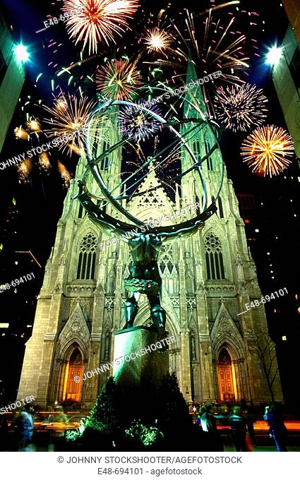 SAINT PATRICK'S. CATHEDRAL FIFTH AVE. MANHATTAN. NEW YORK. USA