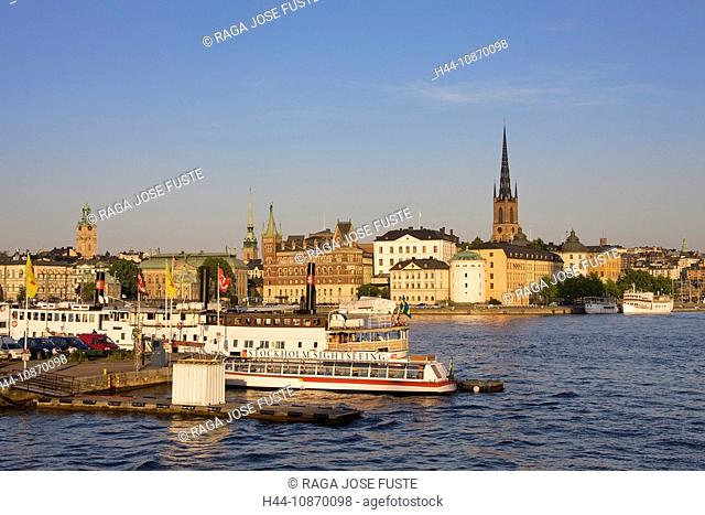 Sweden, Stockholm, Södermalm, church, water, travel, traveling, tourism, holidays, vacation