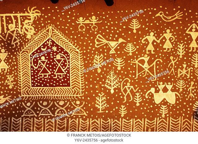 Mural painting ( Rajasthan, India)
