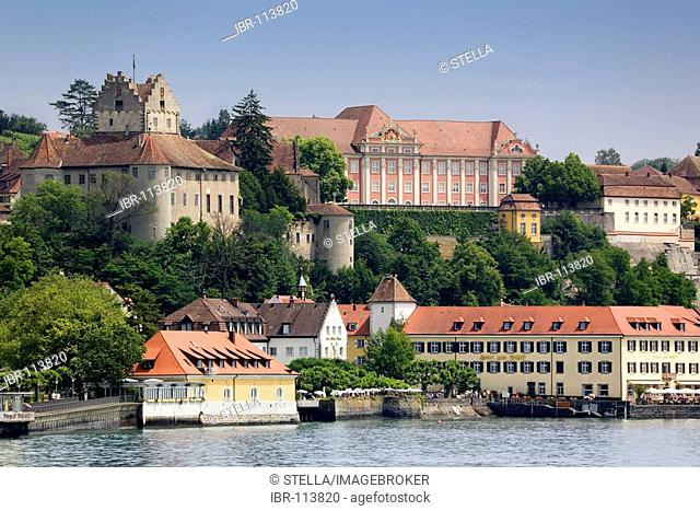 Meersburg at the Lake Constance, Germany