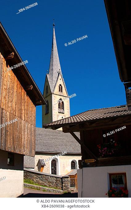 Durnholz or Valdurna church, Sarentino, Sarntal valley, Trentino-Alto Adige (Südtirol), Italy