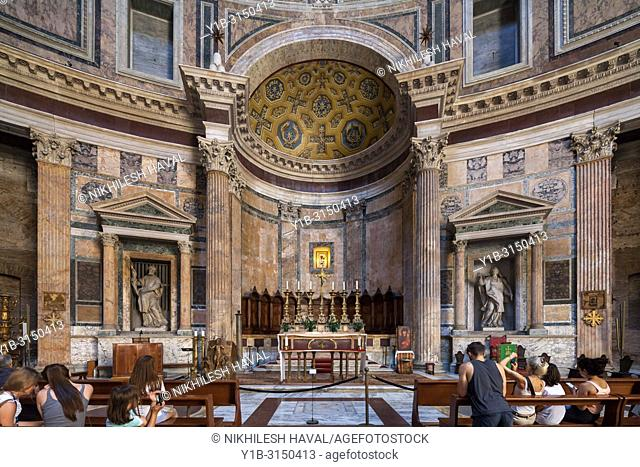 The High Altar, Pantheon, Rome, Italy
