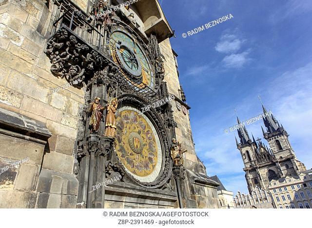 Prague Astronomical Clock, Old Town Square