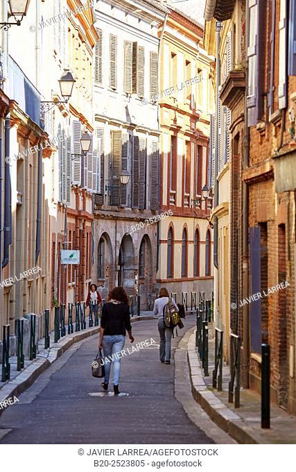 Rue du Taur. Toulouse. Haute Garonne. France
