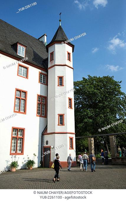 White tower, Koblenz, Coblenz, Germany, Europe