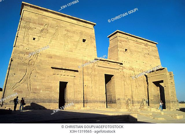 Temple of Philae, Aswan, Egypt, Africa