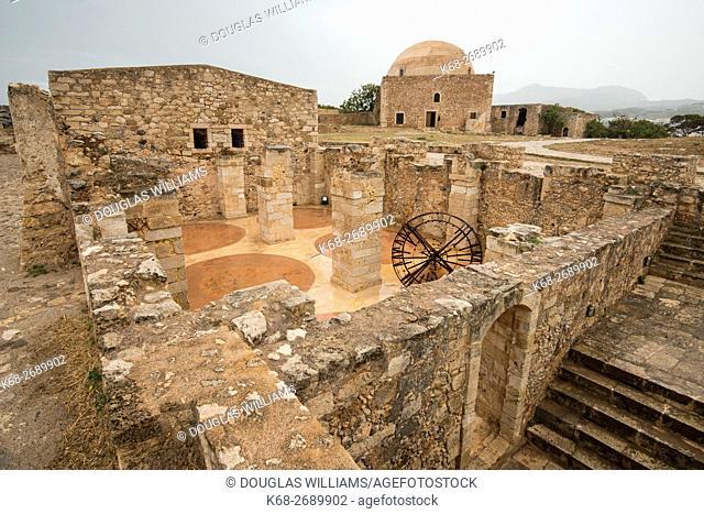 The Fortezza, Venetian fortress in Rethimno, Crete, Greece