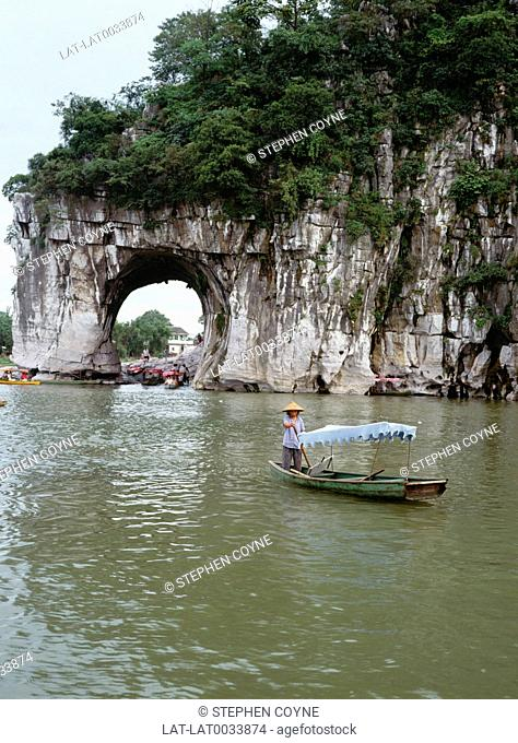 Guilin is situated in the northeast of Guangxi Zhuang Autonomous Region in the People's Republic of China,on the west bank of the Lijiang River also called the...
