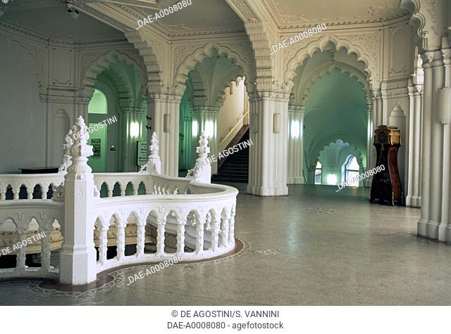 Interior of the Museum of Applied Arts, 1872-1897, Art Nouveau style, Pest, Budapest, Hungary, 19th century