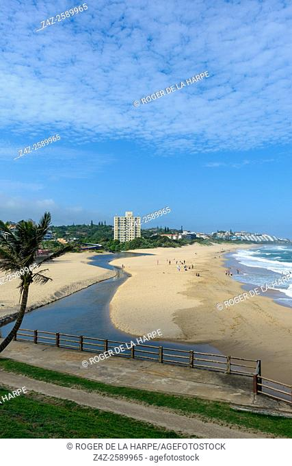 Margate beachfront. South Coast. KwaZulu Natal. South Africa
