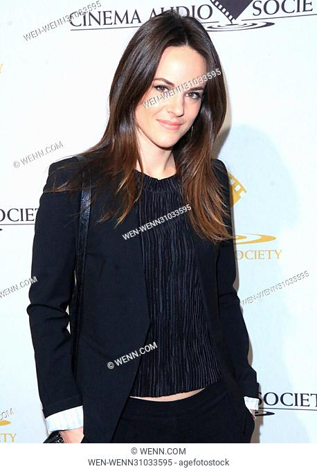 53rd Annual Cinema Audio Society (CAS) Awards at Omni Los Angeles Hotel at California Plaza - Arrivals Featuring: Sarah Butler Where: Los Angeles, California