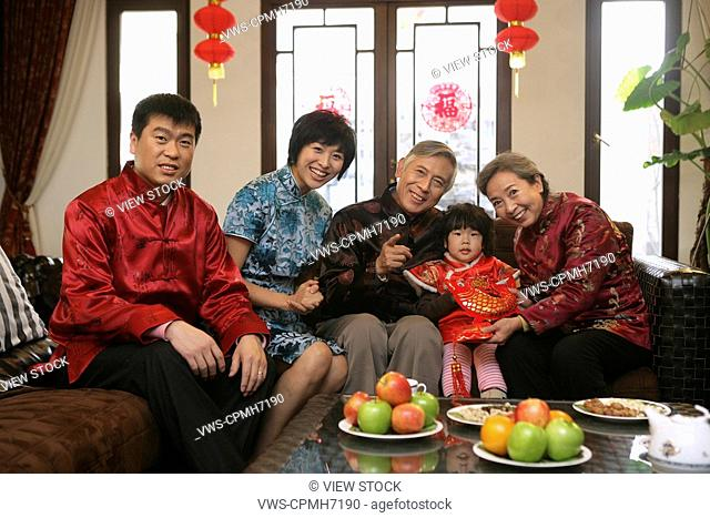 Chinese family reunion