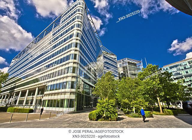 More London, Development Office Buildings, Southwark, London, England, UK, United Kingdom, Europe