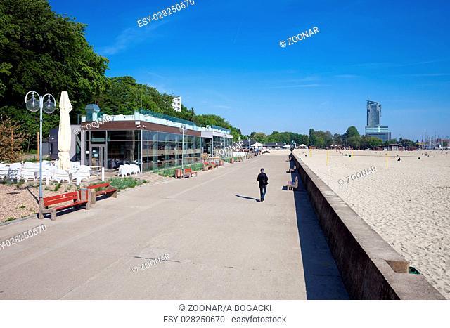 Promenade in Gdynia