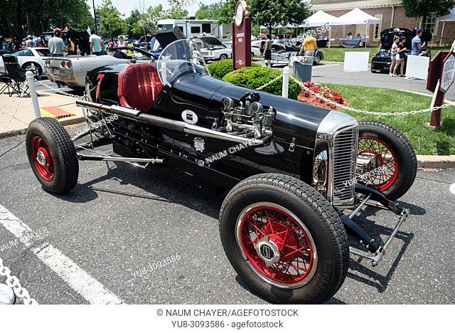 Racing car, Antique car show , Northeast Philadelphia , PA, USA