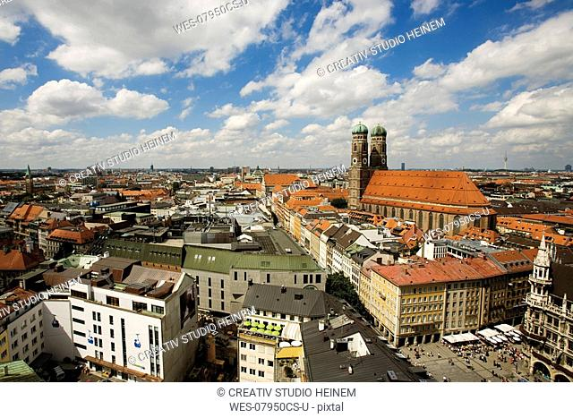 Germany, Bavaria, Overview of Munich