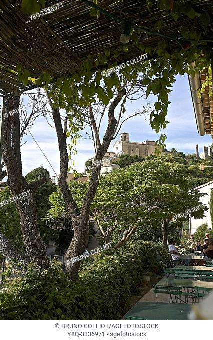 view of St Jurs, Alpes de Haute Provence, France