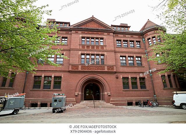 Sever hall harvard university Boston USA