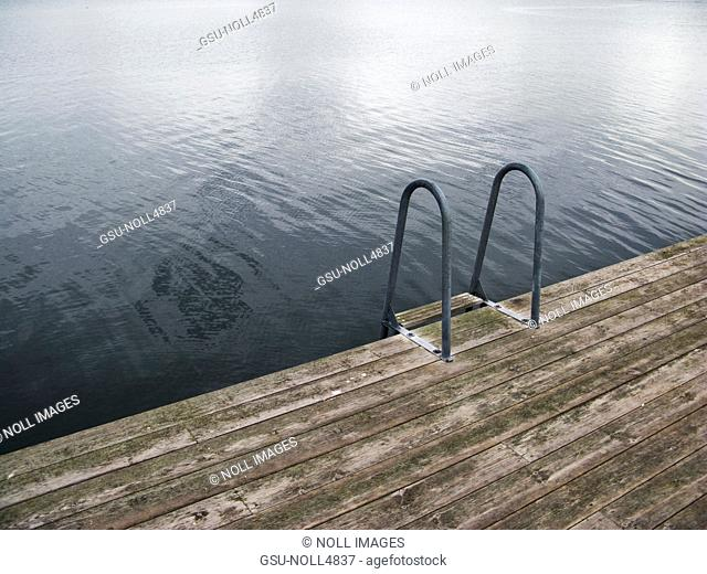 Lakeside Dock and Ladder