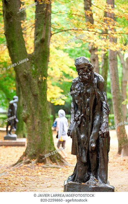 Eustache de Saint Pierre. Sculpture by Auguste Rodin. Rodin Museum. Paris. France